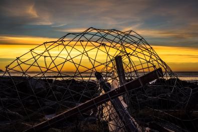 Plast i solnedgang - Ingeborg E.G.Sæter - BioFoto Sunnmøre og Nordfjord